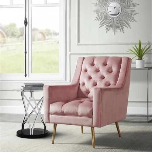 Bryan Accent Chair Broadway Blush