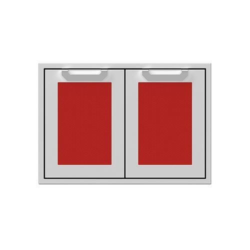 "Hestan - 30"" Hestan Outdoor Double Access Doors - AGAD Series - Matador"