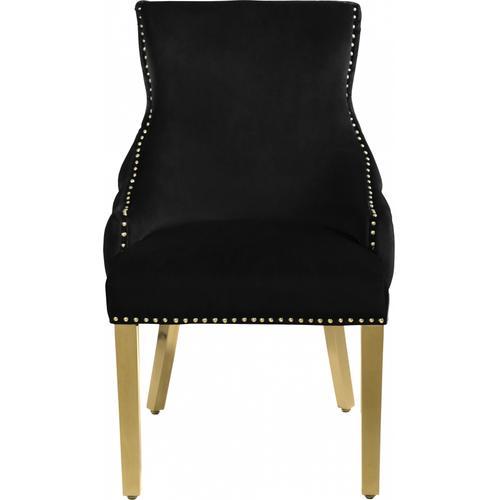 """Tuft Velvet Dining Chair - 24"""" W x 25.5"""" D x 37.5"""" H"""