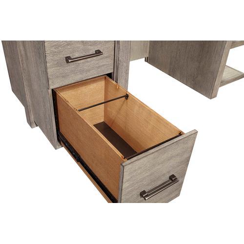 "60"" Desk w/Open Shelves"