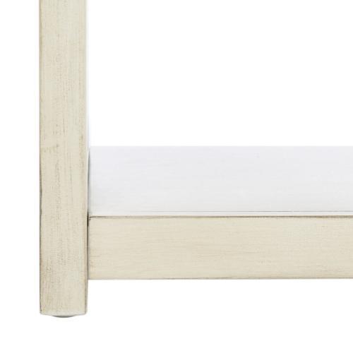 Johni 1 Drawer 5 Shelf Etagere - Antique White