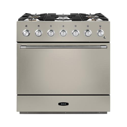 AGA Mercury 36 Dual Fuel Ivory with Chrome trim