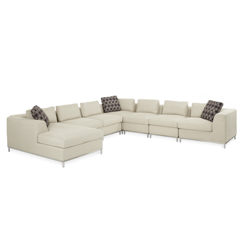LAF 7pc Sectional Set Group 2 Op1