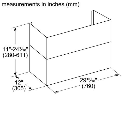 Thermador - Ventilation Accessory DC3089W