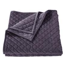 See Details - Velvet Diamond Quilts, 6 Colors - Full/queen / Amethyst