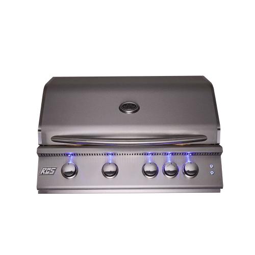 """32"""" Premier Drop-In Grill w/ LED Lights - RJC32AL - Propane Gas"""