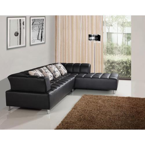 Divani Casa 2235 - Modern Bonded Leather Sectional Sofa