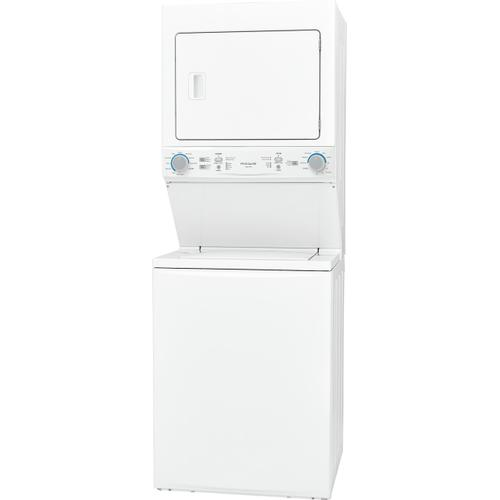 Frigidaire - Frigidaire Gas Washer/Dryer Laundry Center - 3.9 Cu. Ft Washer and 5.5 Cu. Ft. Dryer