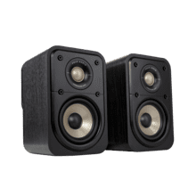 View Product - High-Resolution Surround Speakers for Hi-Fi Home Theater in Black