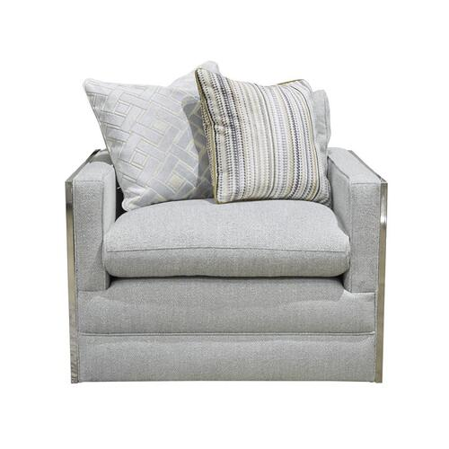 Infinity Sky Swivel Accent Chair
