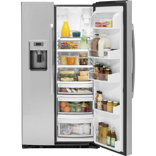 GE Profile - GE Profile™ Series 21.9 Cu. Ft. Counter-Depth Side-By-Side Refrigerator