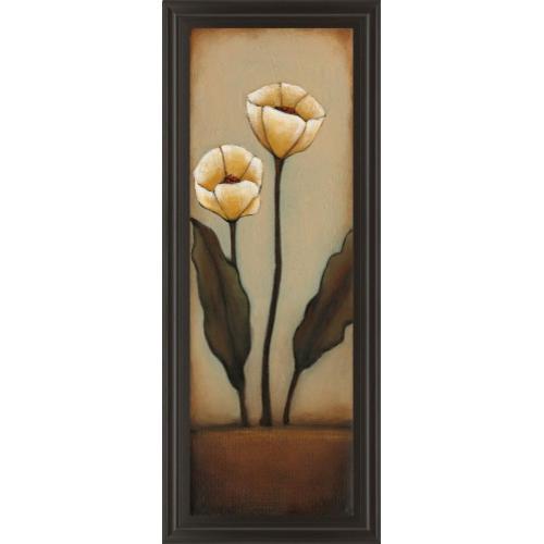 "Classy Art - ""Jardin De Flores I"" By H. Alves Framed Print Wall Art"