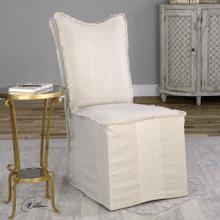 Lenore Armless Chairs, Flax, 2 Per Box
