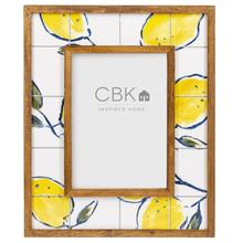 Lemon Tile 5x7 Frame