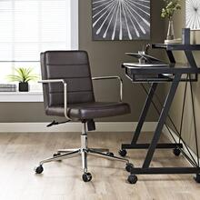 Cavalier Mid Back Office Chair in Brown