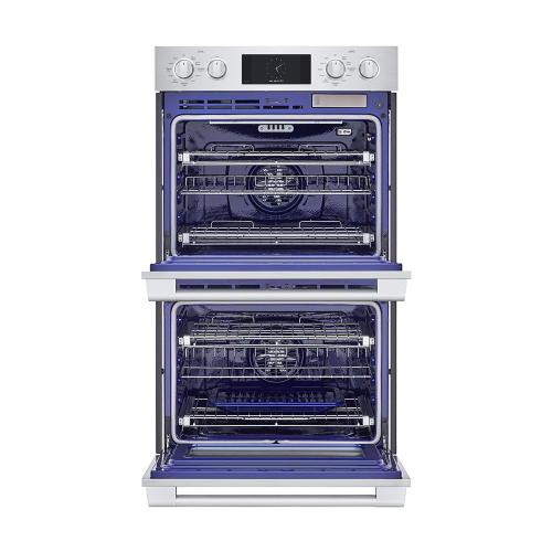30-inch Double Wall Oven with Steam-Combi