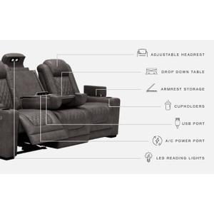 Signature Design By Ashley - Hyllmont Power Reclining Sofa