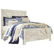 Bellaby Queen Crossbuck Panel Bed Product Image