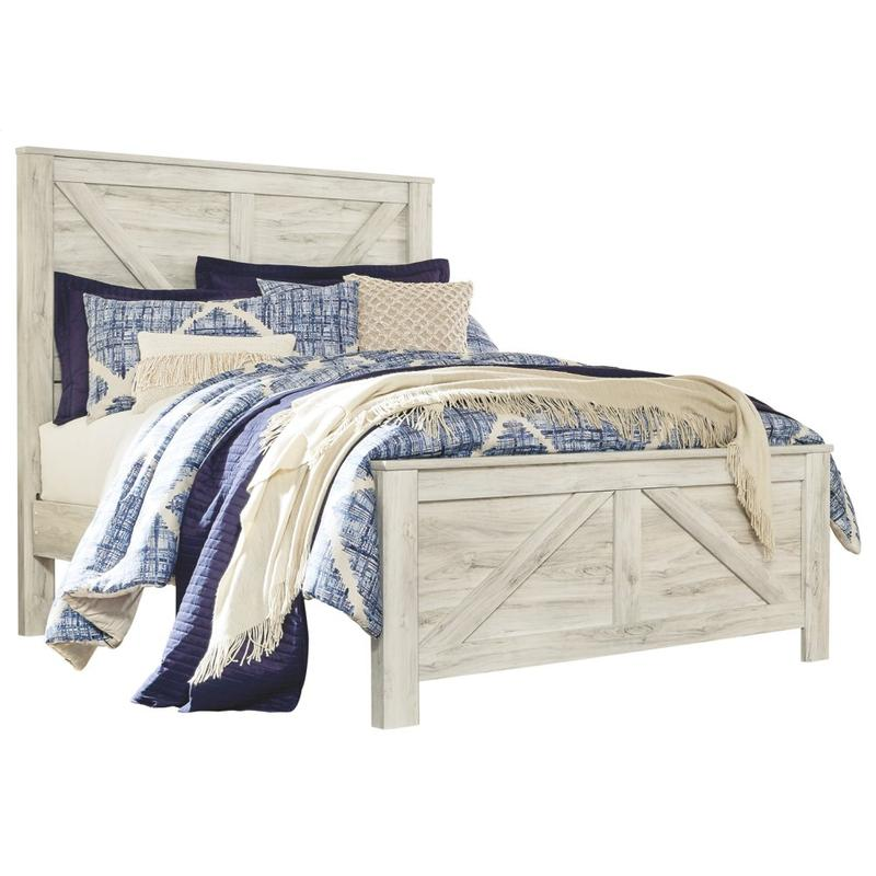 View Product - Bellaby Queen Crossbuck Panel Bed