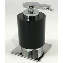 View Product - Miss By Zen Soap Lotion Gel Sanitizer Dispenser - Black