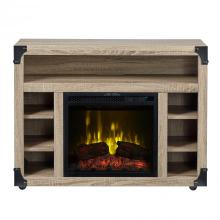 "Chelsea TV Stand with 18"" Electric Fireplace"