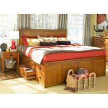 E.KING Storage Bed