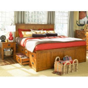 A America - E.KING Storage Bed