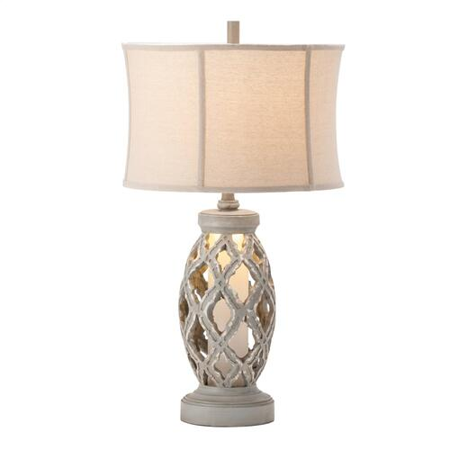 Gaborone Table Lamp with Night Light