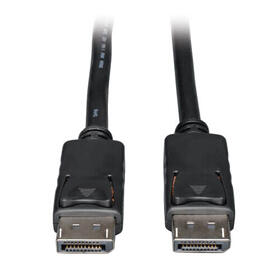 DisplayPort Cable with Latches, 4K @ 60 Hz, (M/M) 20 ft.