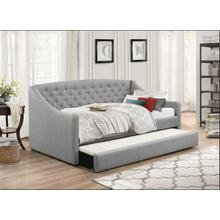 See Details - GREY DAYBED W/ TRUNDLE
