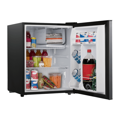 Galanz 2.7 Cu Ft Mini Refrigerator in Stainless Steel Look