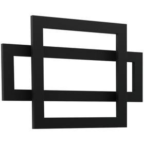 "Cadiz Towel Warmer 23.5"" x 35.5"" Hardwired Black"