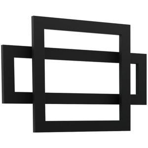 "Cadiz Towel Warmer 23.5"" x 35.5"" Hardwired Black Product Image"