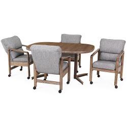 Table Base: Twin Legs (smoke)