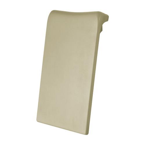 Luxury Backrest 11-3/4 Inch W x 22-1/4 Inch H for ios and Edge Bathtubs - Grey