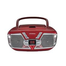 Retro Portable CD Radio Boombox