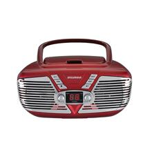 See Details - Retro Portable CD Radio Boombox
