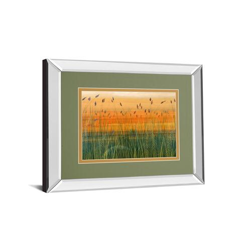 """Golden Bayou"" By Holman Mirror Framed Print Wall Art"
