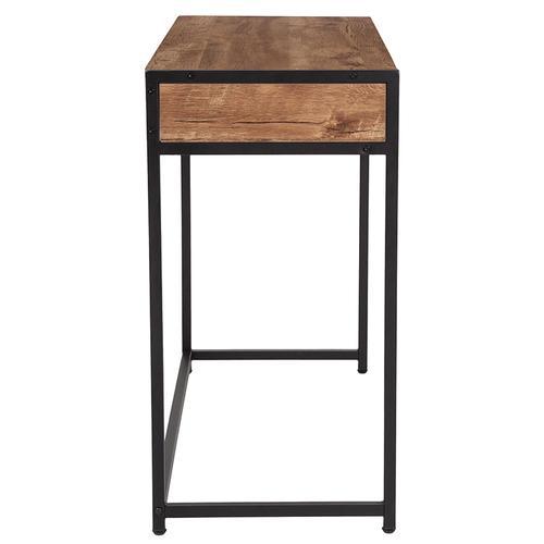 Flash Furniture - Cumberland Collection Computer Desk in Rustic Wood Grain Finish