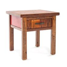 Back To the Barn End Table