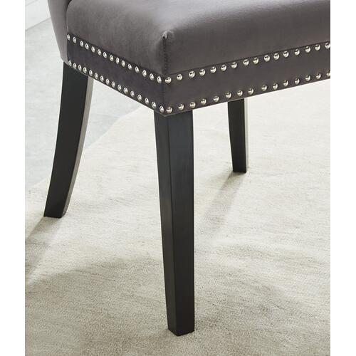 Rizzo Side Chair, set of 2 in Grey