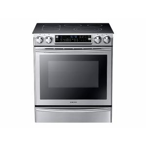 Samsung Appliances5.8 cu. ft. Slide-In Electric Range with Flex Duo™ in Stainless Steel
