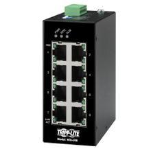 See Details - 8-Port Unmanaged Industrial Gigabit Ethernet Switch - 10/100/1000 Mbps, DIN Mount