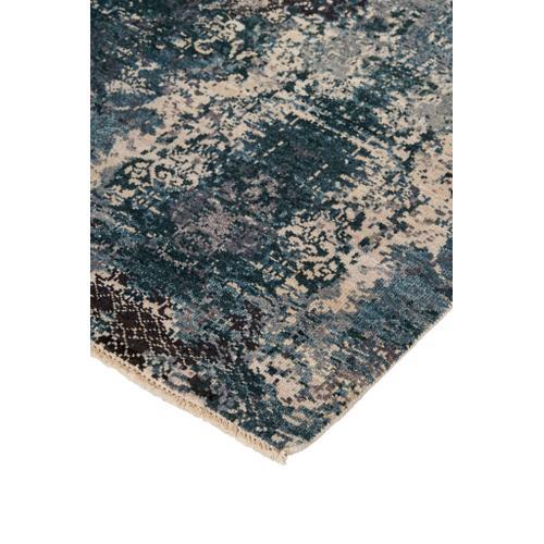 Feizy - DALIA LUXE 6384F IN GREEN-MULTI