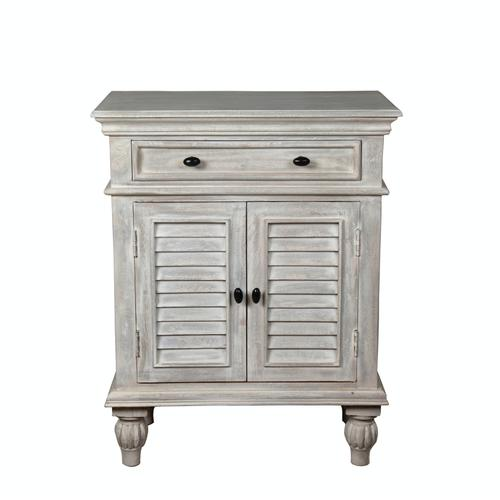 Capris Furniture - Chest available in Grey Finish