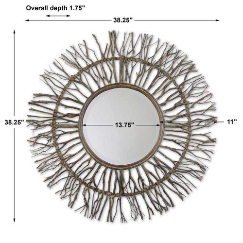 Josiah Round Mirror