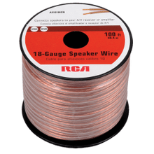 100 Foot 18 Gauge Speaker Wire (Spool)