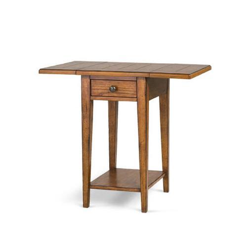 Magnussen Home - Drop Leaf End Table