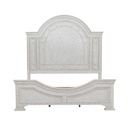 Pulaski Furniture - Glendale Estates King / California King Transom Panel Bed Headboard