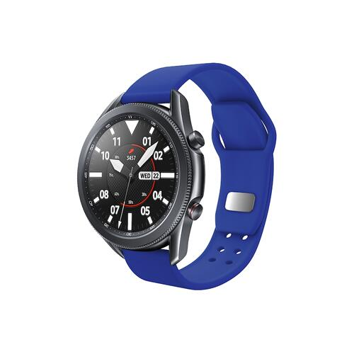 Quick Change Silicone Sport Watch Band (22mm) Blue
